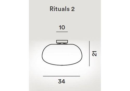 Потолочный светильник Foscarini RITUALS 2440082 10, фото 2