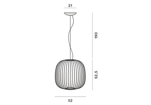 Подвесной светильник Foscarini SPOKES 2640072-22, фото 2