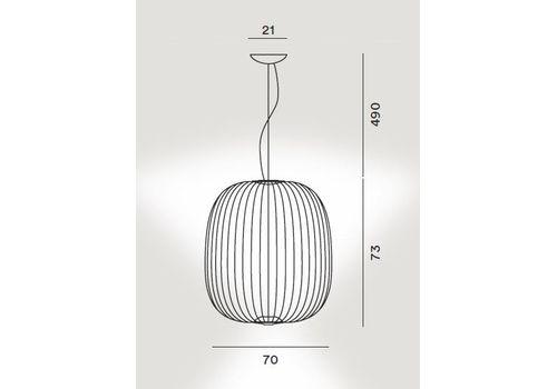 Подвесной светильник Foscarini SPOKES LARGE 2640172, фото 2
