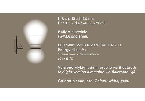 Настенный светильник Foscarini Newton, фото 4