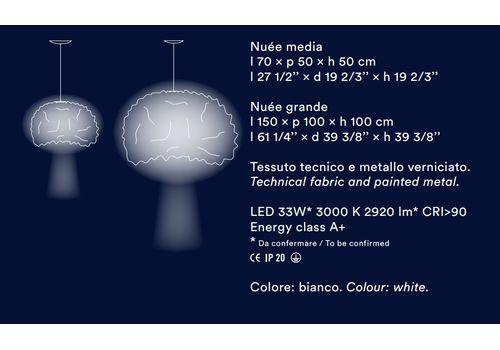 Подвесной светильник Foscarini Nuée, фото 4