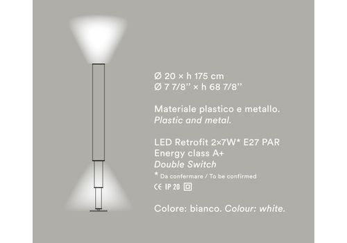 Напольный светильник Foscarini Palomar, фото 2