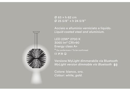 Подвесной светильник Foscarini Sun - Light of love, фото 4