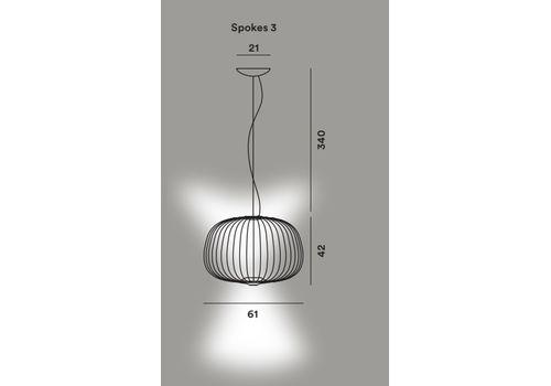 Подвесной светильник Foscarini SPOKES 3, фото 10