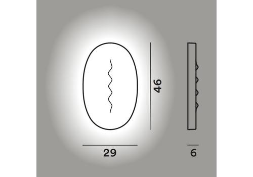 Настенный светильник Foscarini SUPERFICIE MEDIA Mylight, фото 2