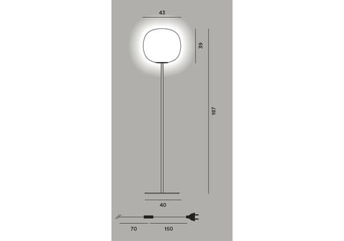 Напольный светильник Foscarini GEM terra, фото 2