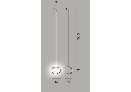 Подвесной светильник Foscarini GREGG piccola, фото 2