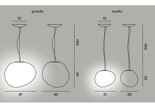 Подвесной светильник Foscarini GREGG grande, фото 2