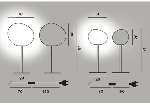 Настольный светильник Foscarini GREGG grande tavolo alta, фото 2