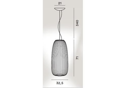 Подвесной светильник Foscarini Spokes 1 2640071 oro, фото 2