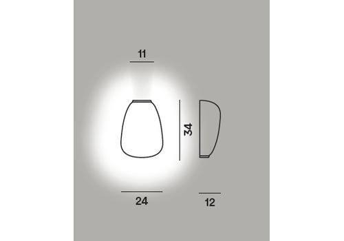 Настенный светильник RITUALS 1 semi My Light, фото 2