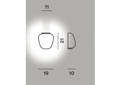 Настенный светильник RITUALS 3 semi My Light, фото 2