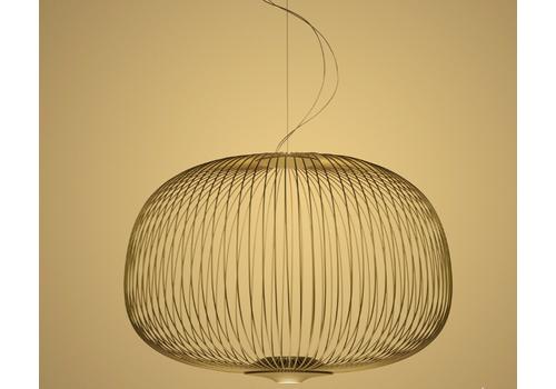 Подвесной светильник Foscarini Spokes 3 nero, фото 1