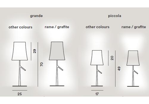 Настольный светильник Foscarini BIRDIE 221001-rame, фото 2