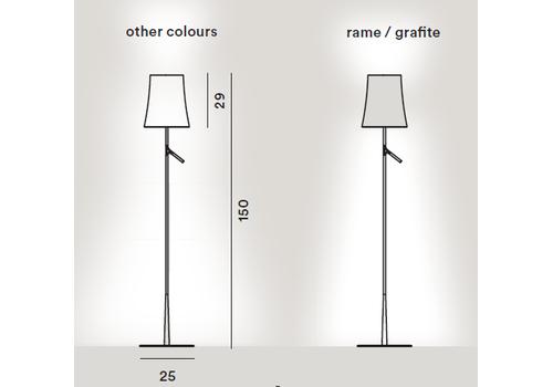 Напольный светильник Foscarini BIRDIE-grafite 221004, фото 2