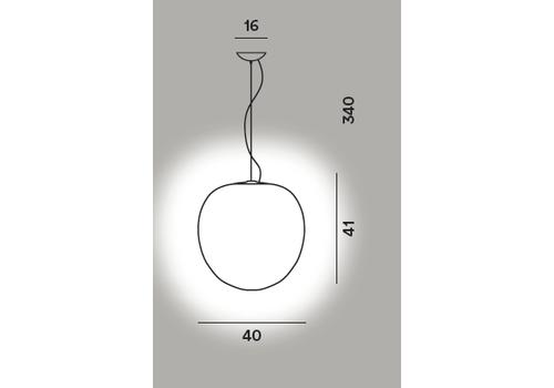 Подвесной светильник RITUALS XL sospensione, фото 2